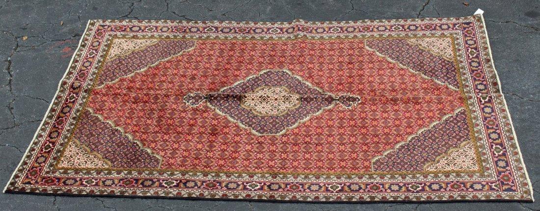 "6'4"" x 9'4"" Persian wool Tabriz rug"