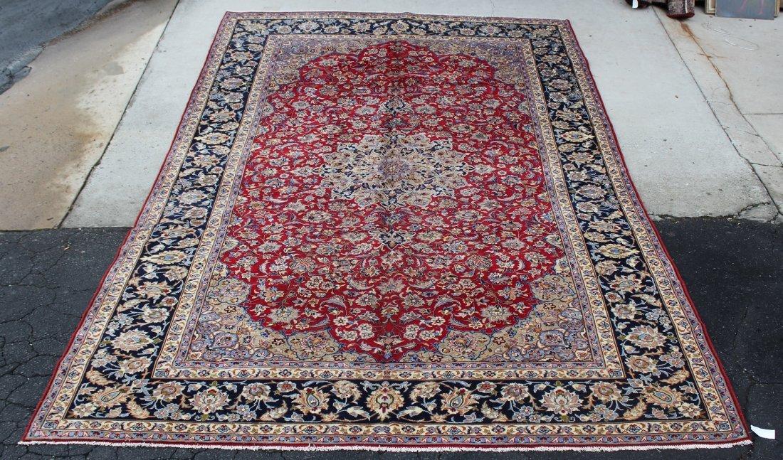 "Persian Isfahan rug 9'9"" x 15'4 - 2"