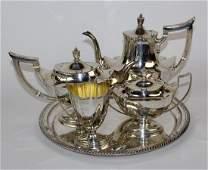 Gorham sterling silver 5pc tea set