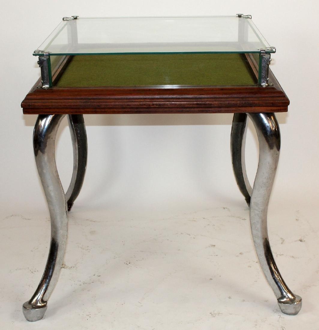 Mid century ice cream parlor dsplay table