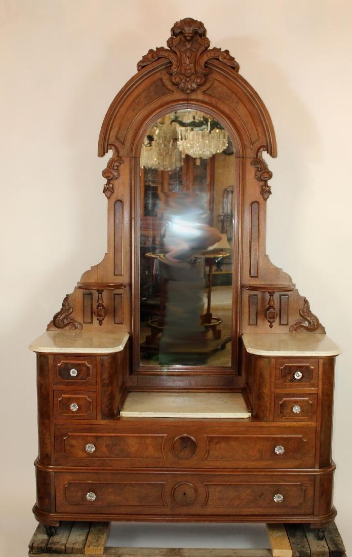 American Victorian step down dresser