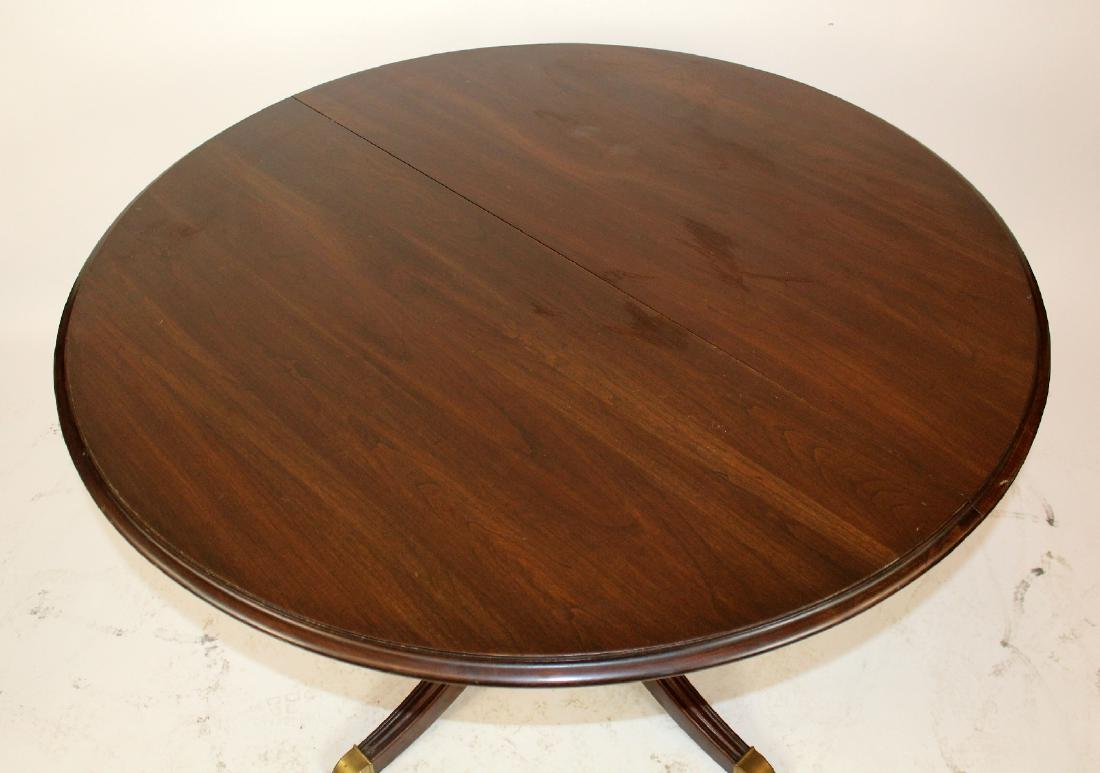 Ethan Allen pedestal base dining table - 2