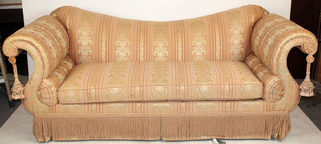 Baker Furniture Co rolled arm sofa - 2