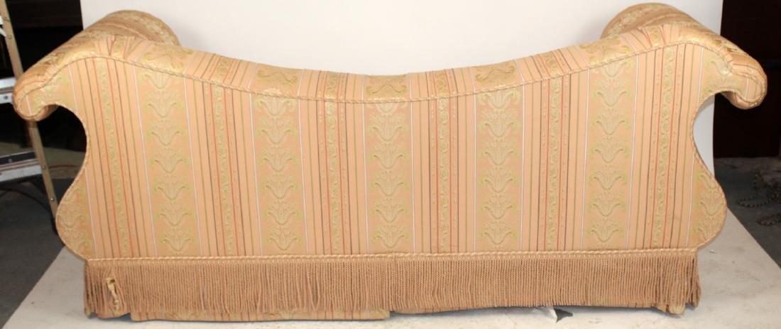 Baker Furniture Co rolled arm sofa - 3
