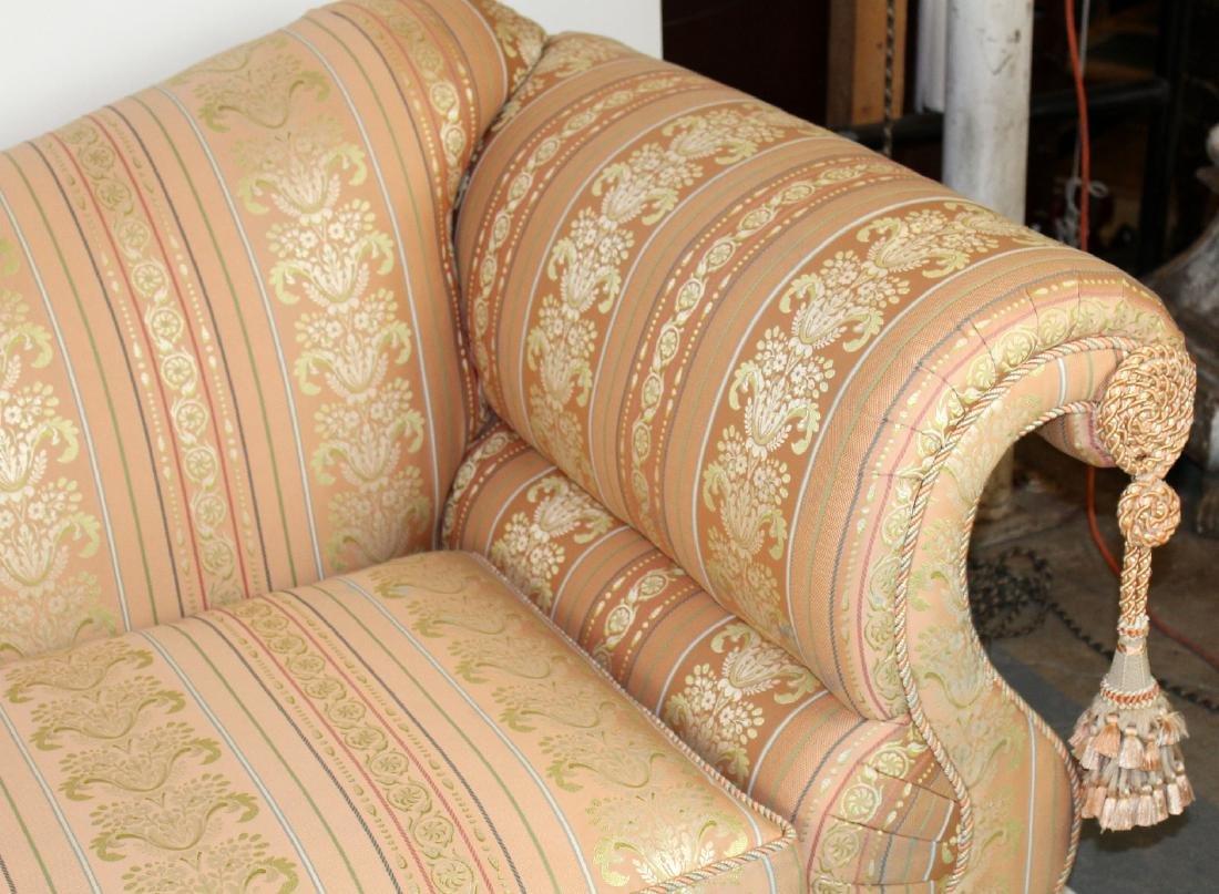 Baker Furniture Co rolled arm sofa - 4