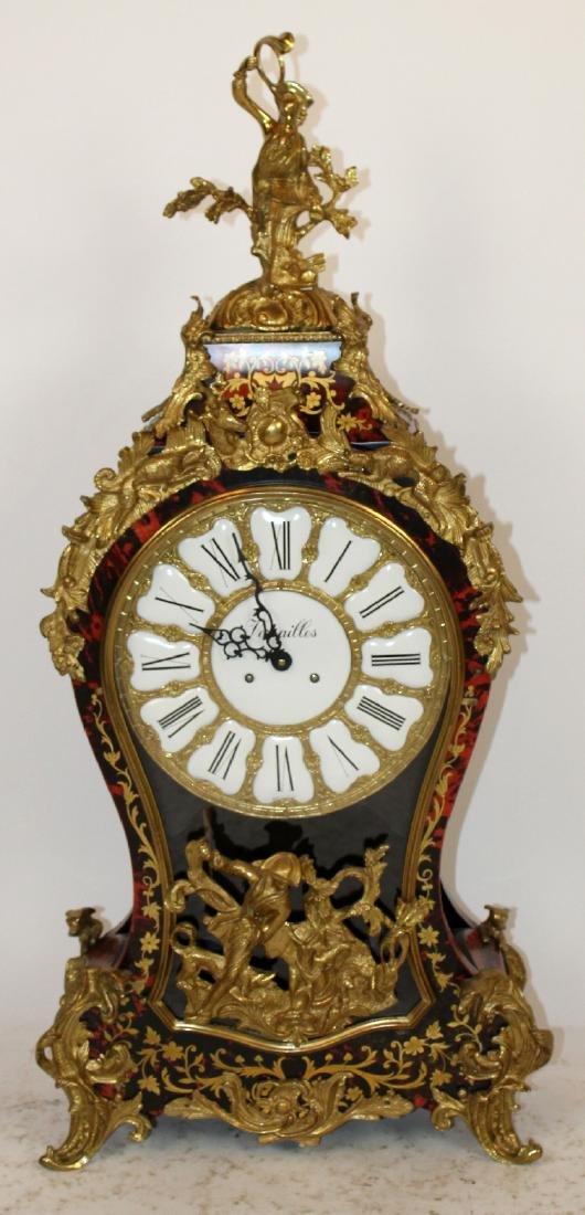 Louis XVI boulle style bracket clock