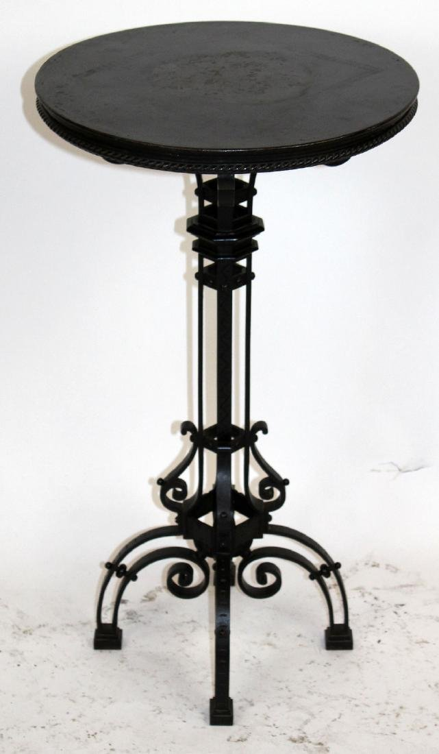 French Art Modern gueridon table