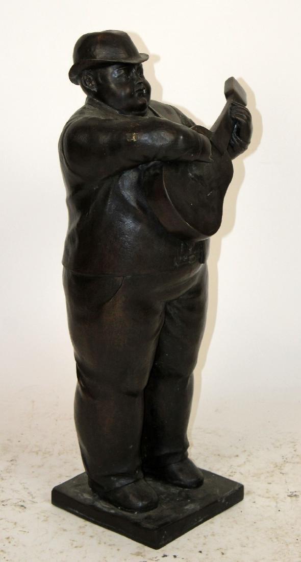 Bronze sculpture after Botero - 3