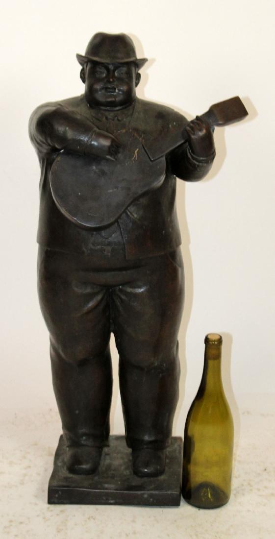 Bronze sculpture after Botero - 5