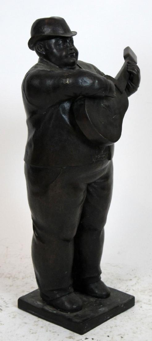 Bronze sculpture after Botero - 6