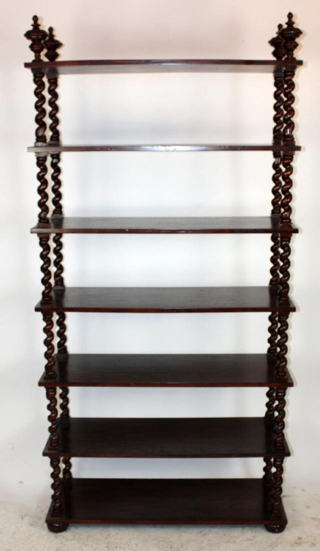Barley Twist etagere book shelf