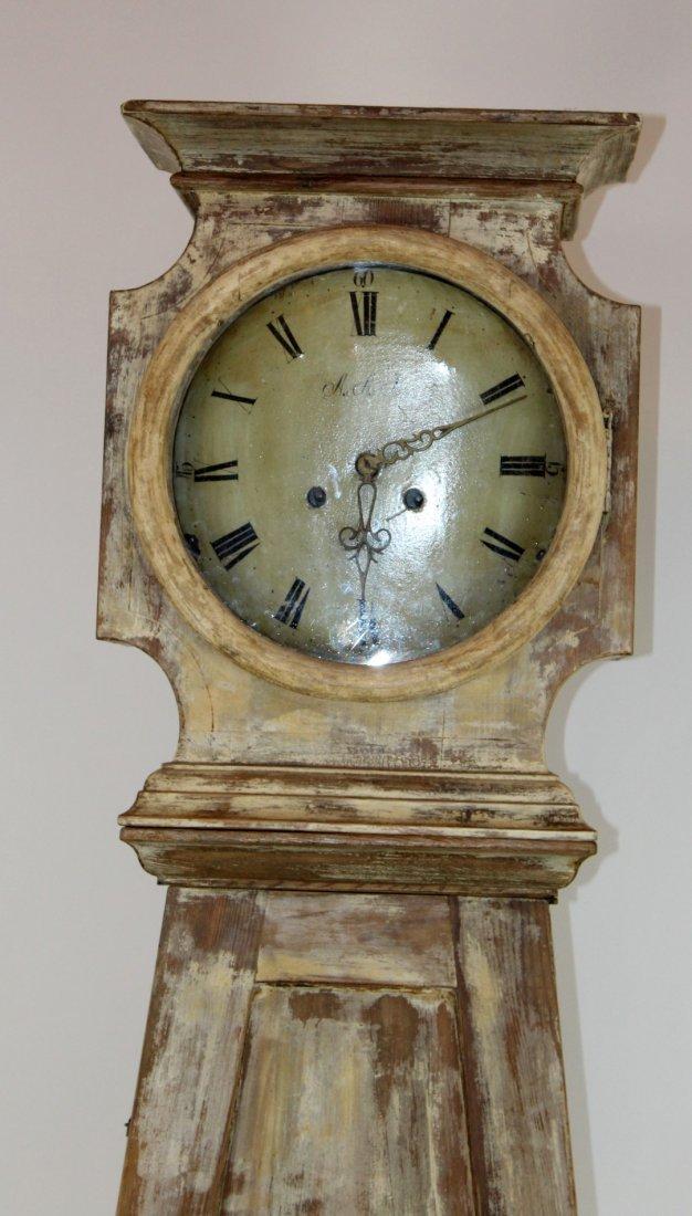 Swedish Mora clock in painted case - 2