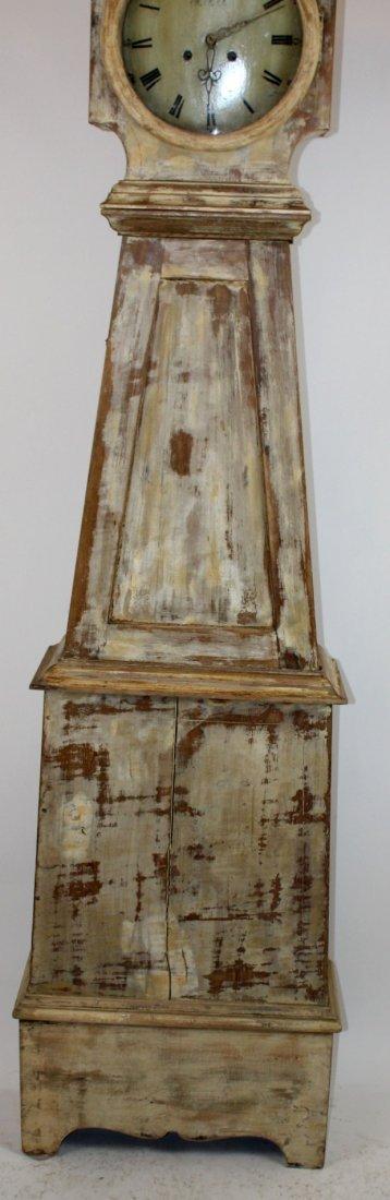 Swedish Mora clock in painted case - 3
