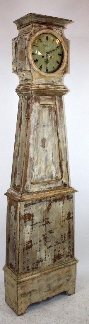 Swedish Mora clock in painted case - 4