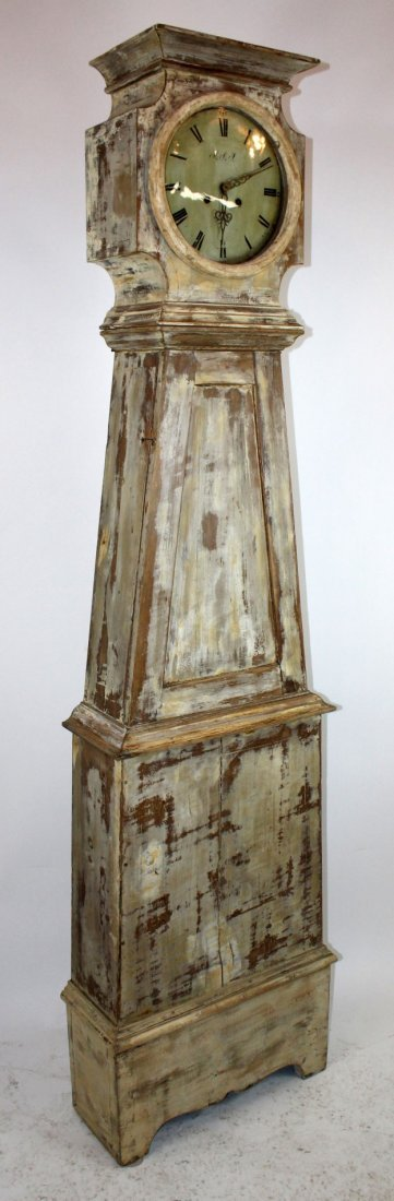 Swedish Mora clock in painted case - 5