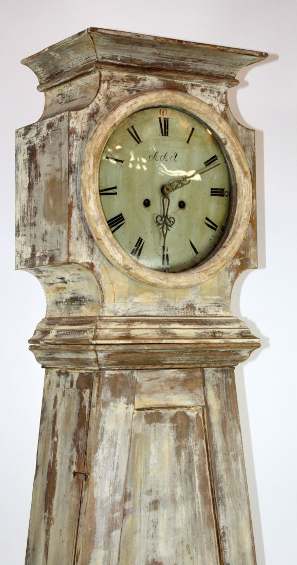 Swedish Mora clock in painted case - 6