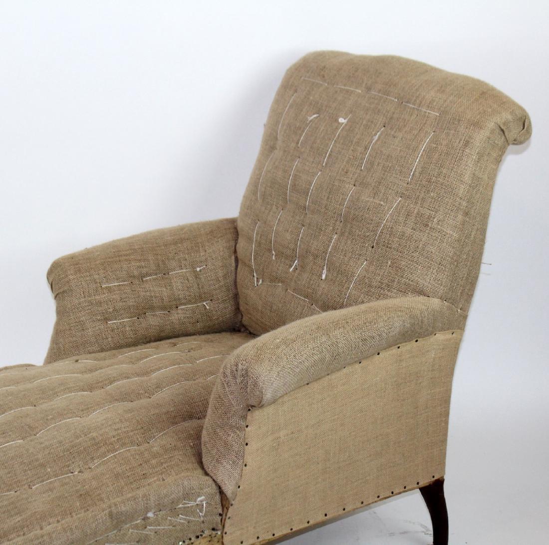 French Napoleon III chaise longue - 2