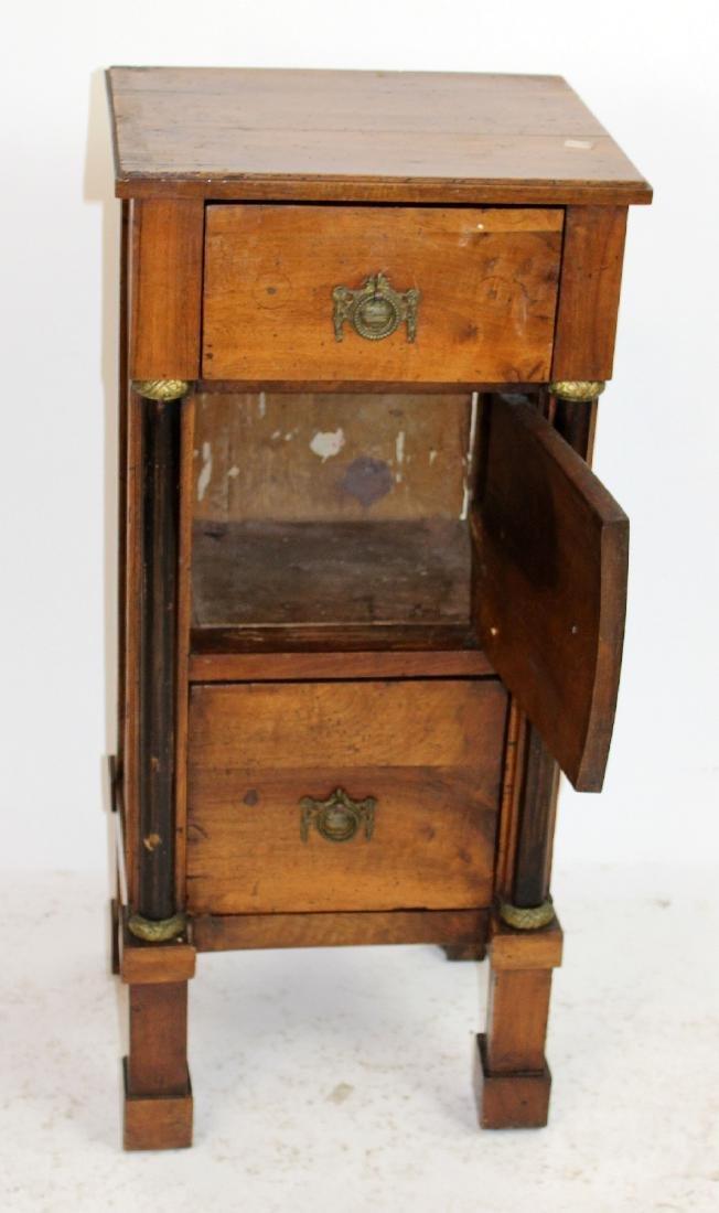 French Directoire 3 drawer chevet - 4