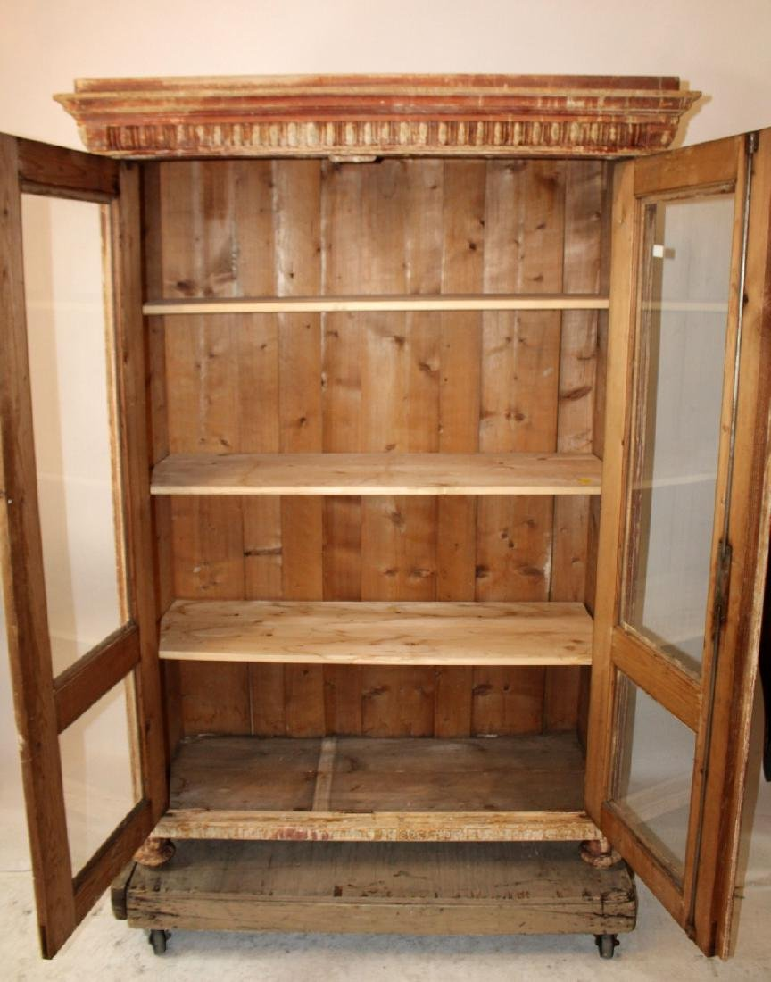Pair of French, 19th century, 2 door bookcases. - 2