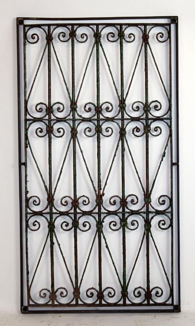 Hand Forged iron panel