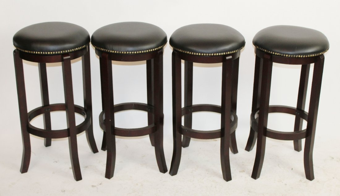 4 bar height swivel barstools