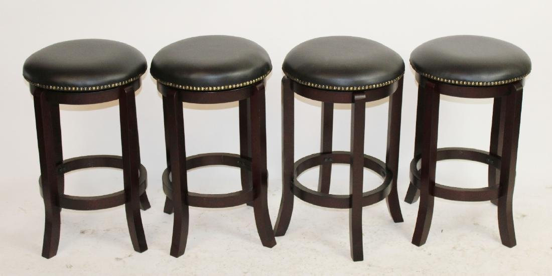 4 counter height swivel barstools