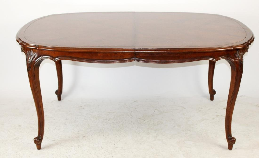 Century Louis XV style dining table