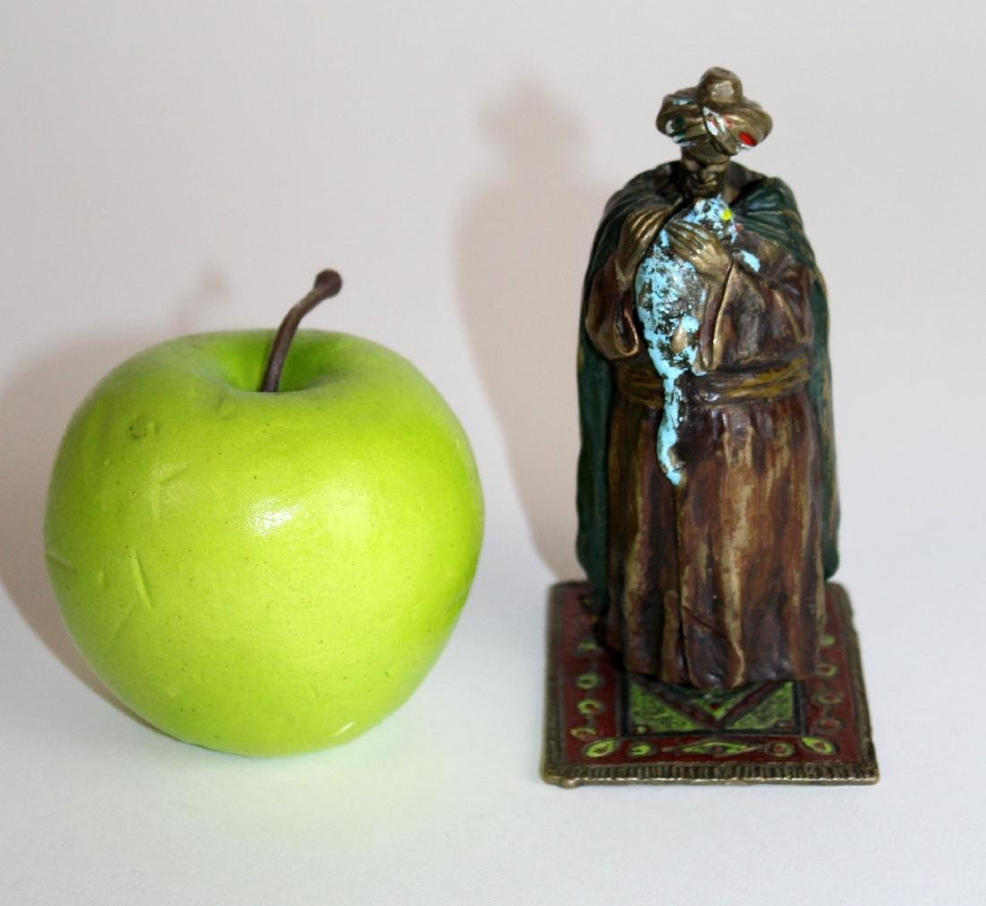 Namgreb cold painted bronze figurine - 5
