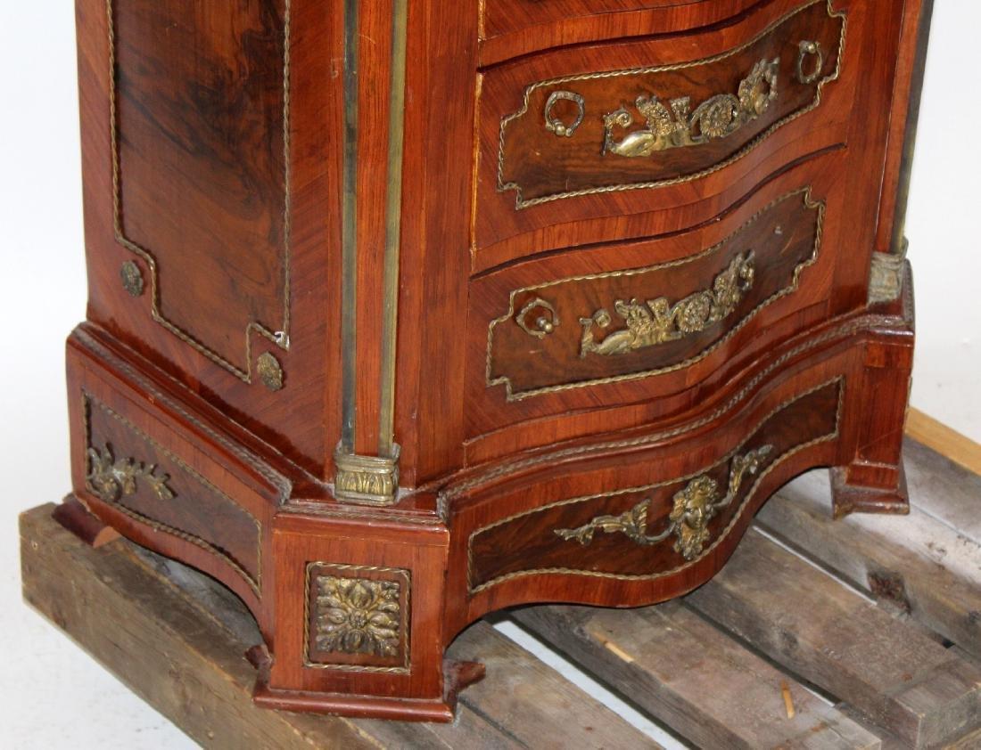 Empire style serpentine front semainier chest - 6