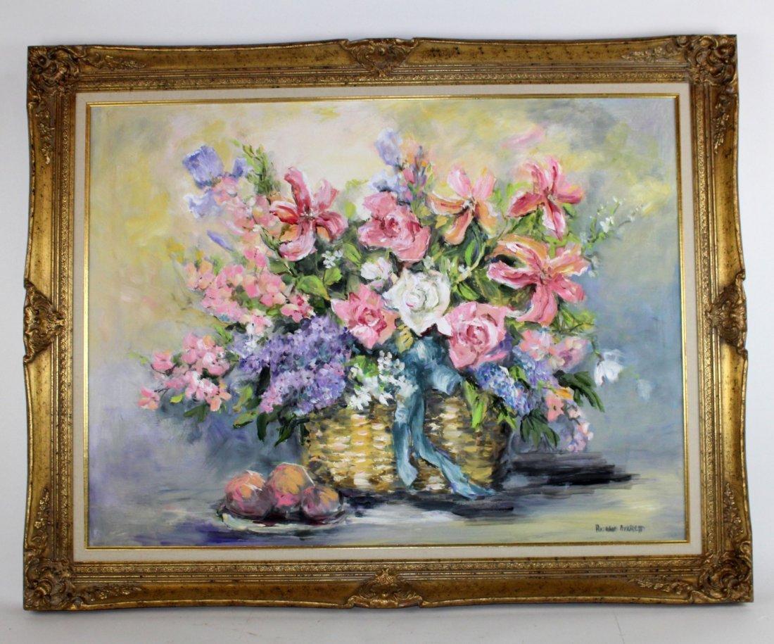 Rosalie Averett Floral still life painting