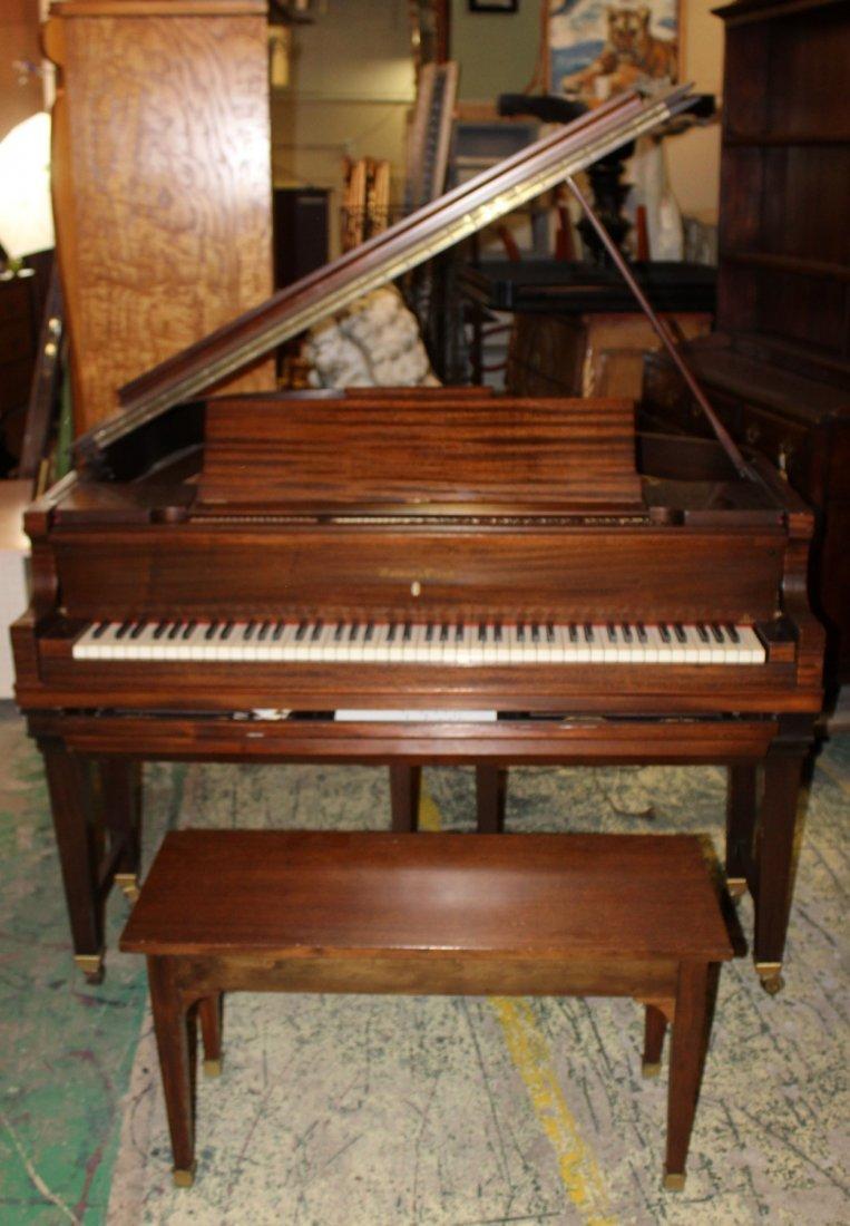 Marshall & Wendell mahogany case piano