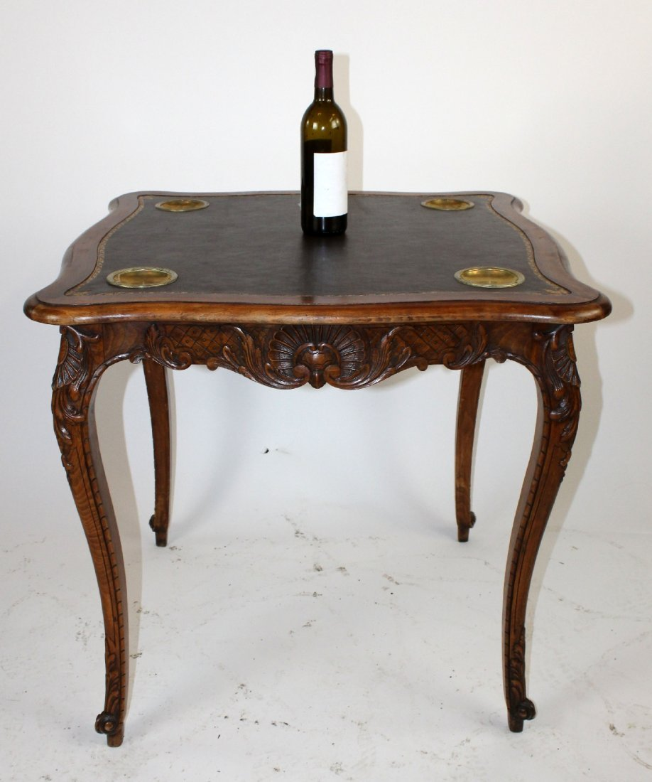 French Louis XV style game table - 2