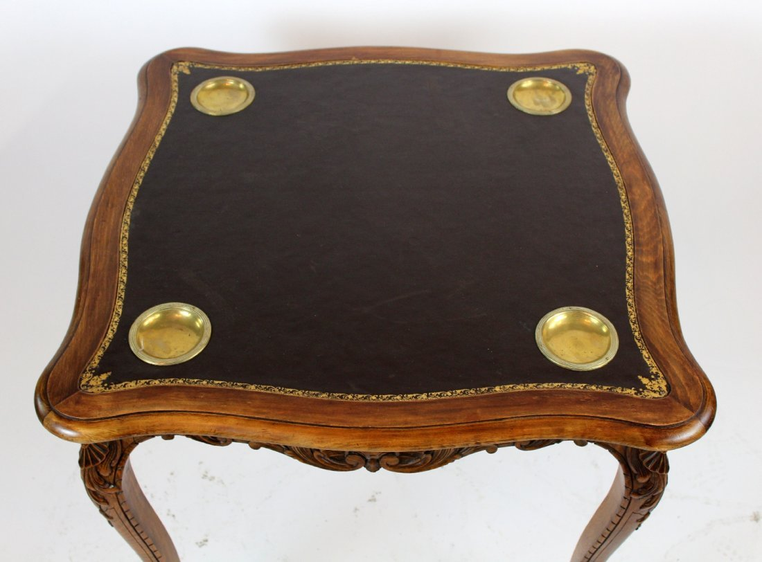 French Louis XV style game table - 3