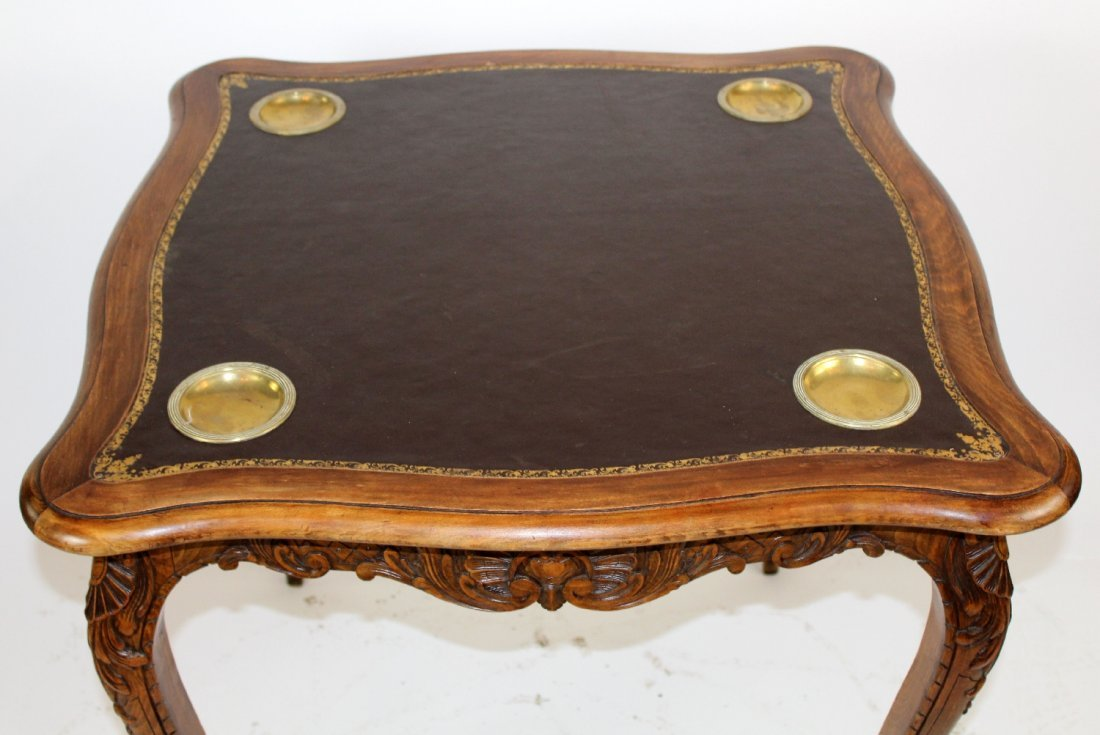 French Louis XV style game table - 4