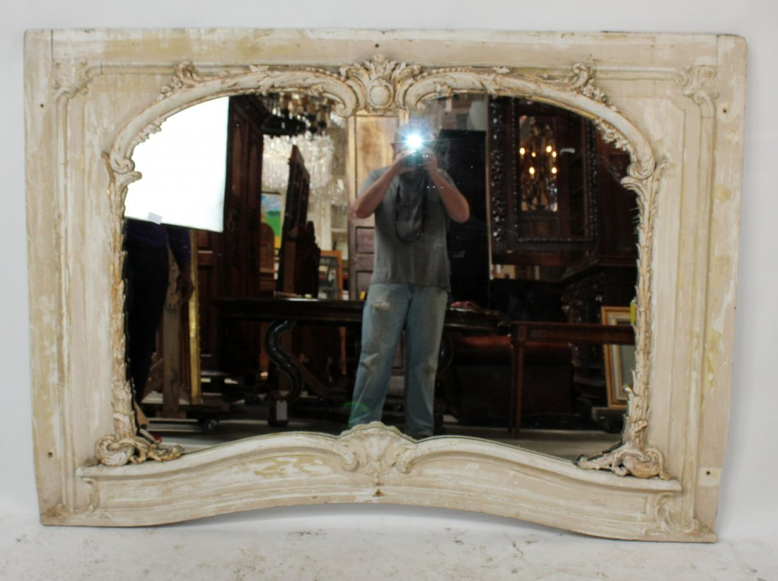 Louis XV mirror from paneled room