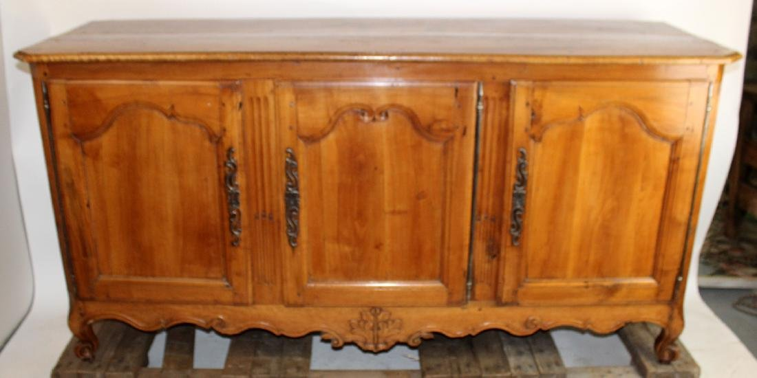 French Louis XV enfilade in cherry