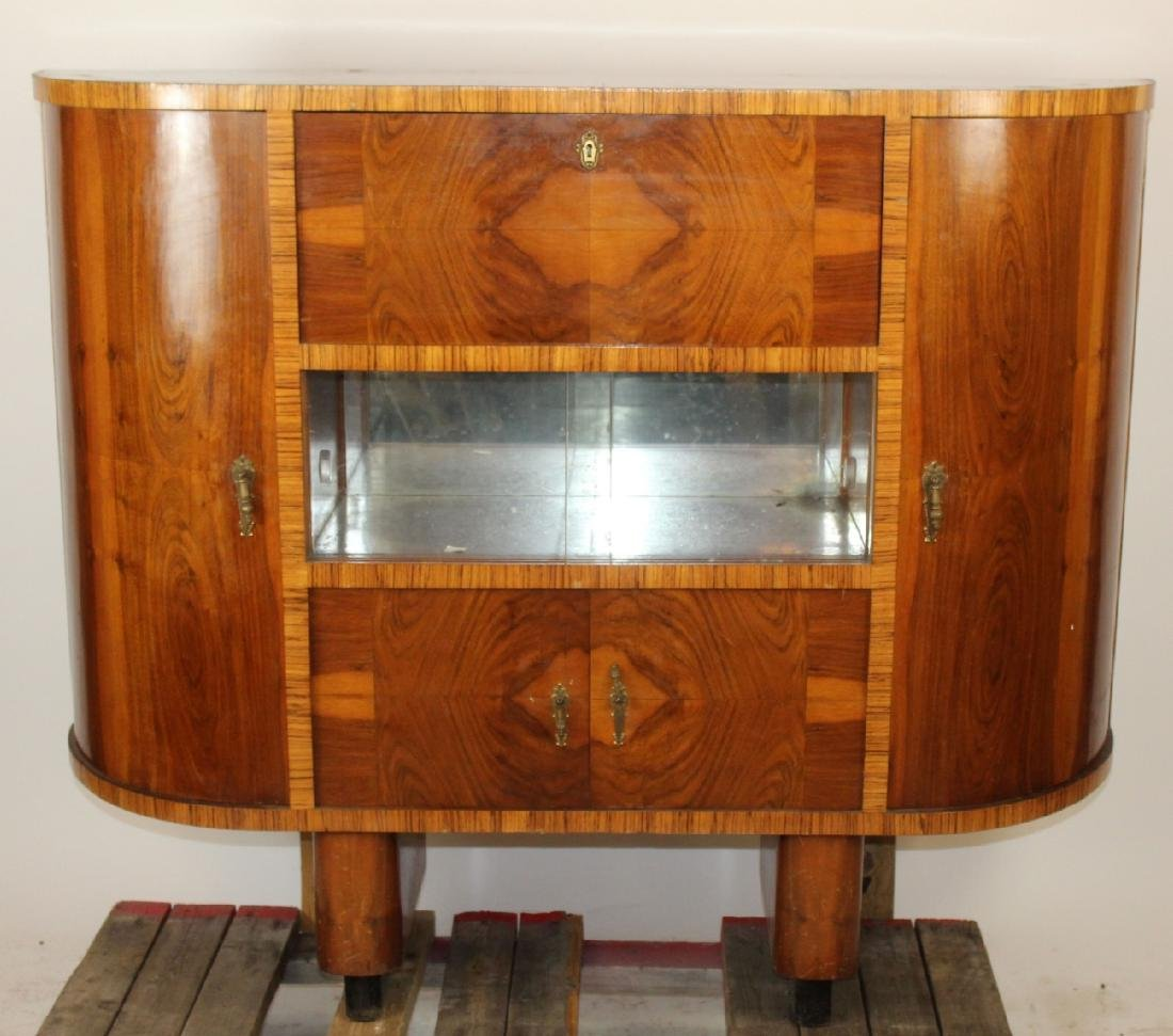 Italian Art Deco cocktail cabinet