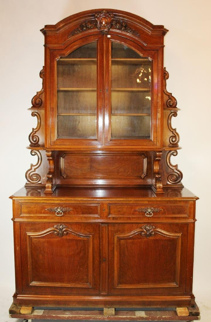 French Louis Philippe buffet in mahogany