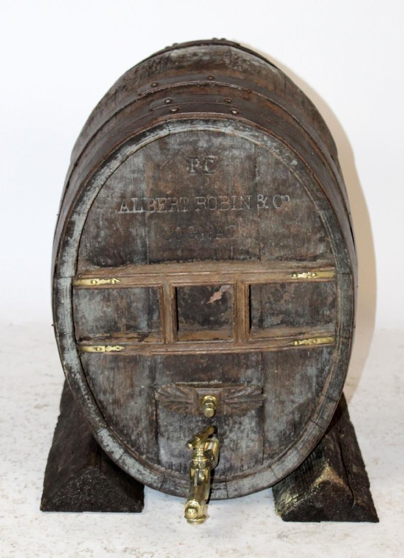 Antique French Cognac barrel