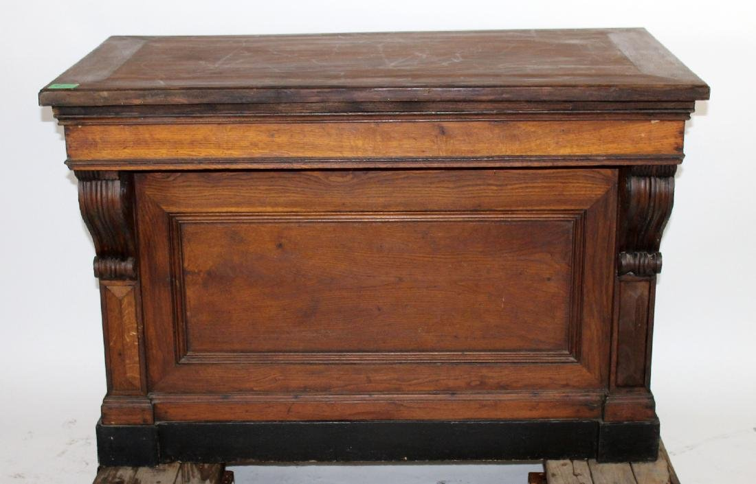 French oak store counter