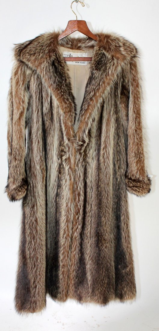 3/4 Length fur coat