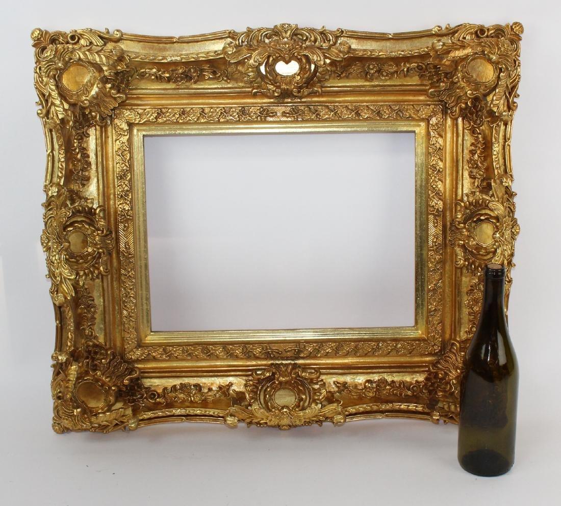 Gilt Rococo style frame - 2