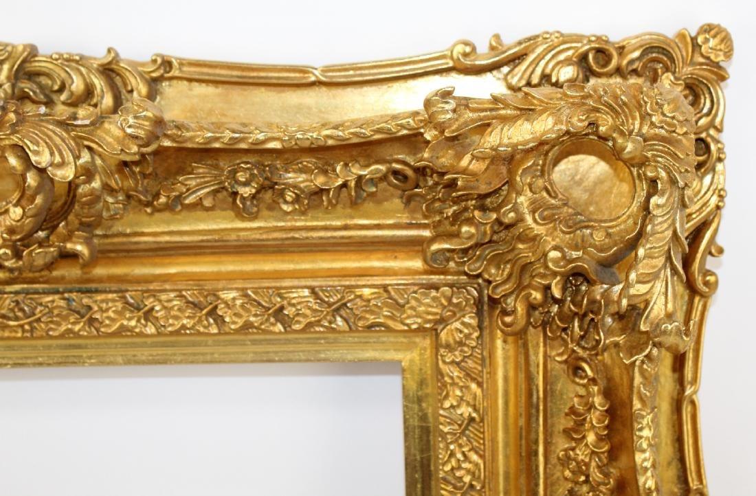 Gilt Rococo style frame - 3