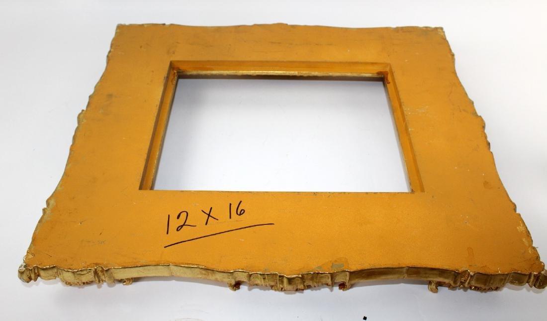 Gilt Rococo style frame - 4