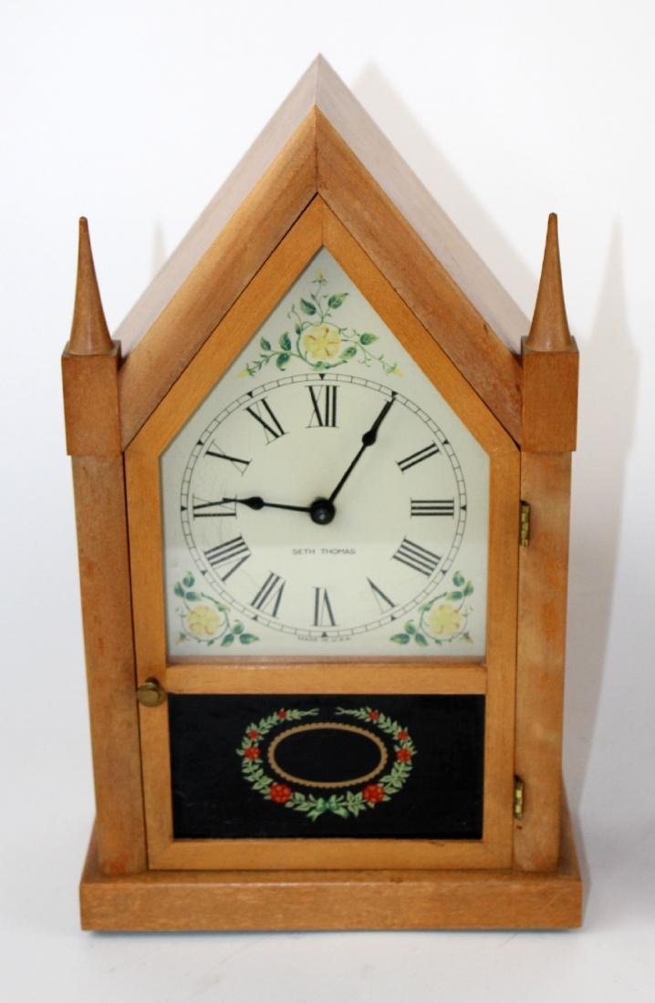 Lot of 2 vintage Steeple clocks - 3