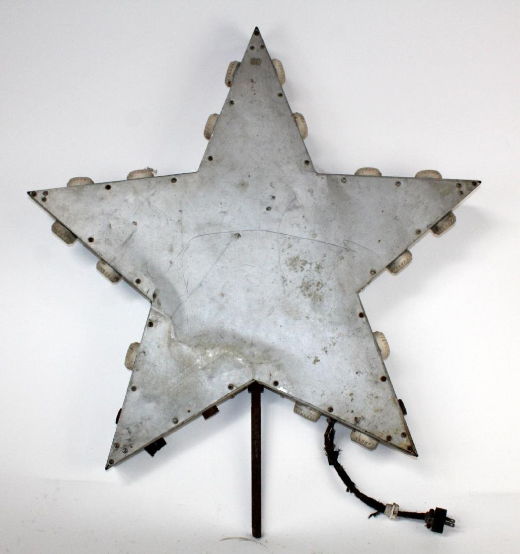 Vintage star form marquee