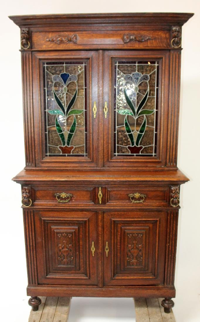 French Renaissance buffet in oak