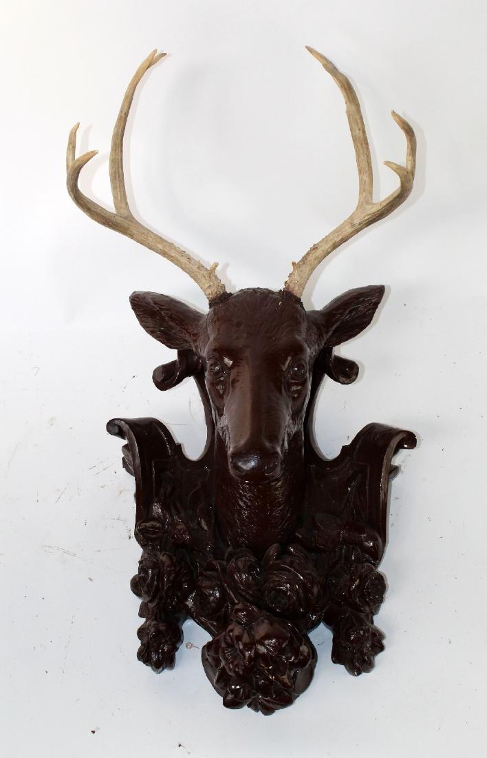 Elk Club mount with organic Elk antlers