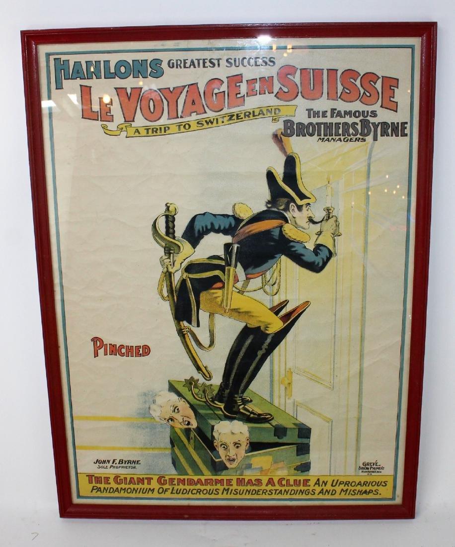 """Greve Show print """"Le Voyage en Suisse"""""""