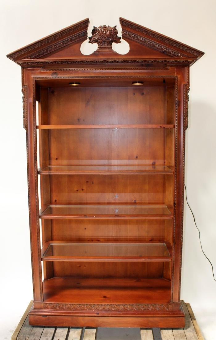 Ferguson Copeland mahogany open bookcase